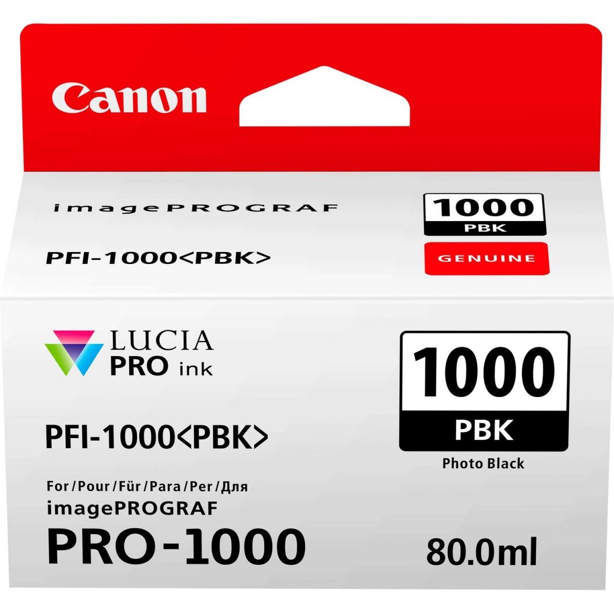 Canon PFI-1000 [Photo Black]